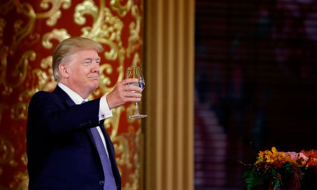 Chinese media hails success of Trump's 'pilgrimage ' to Beijing