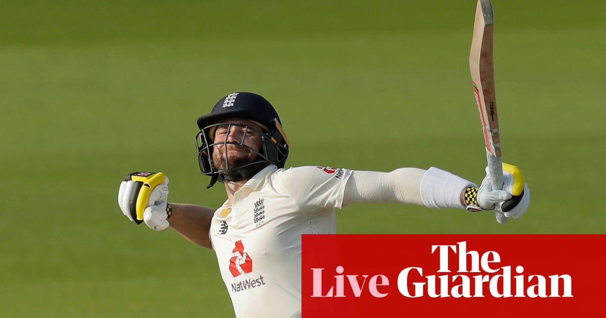 England chasing 277 to win first Test against Pakistan: day four – live!