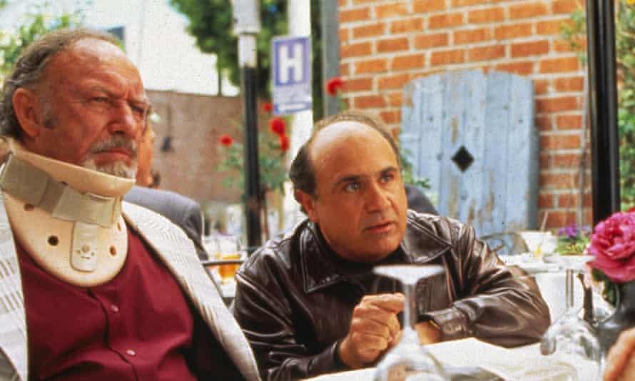 Gene Hackman and Danny DeVito.