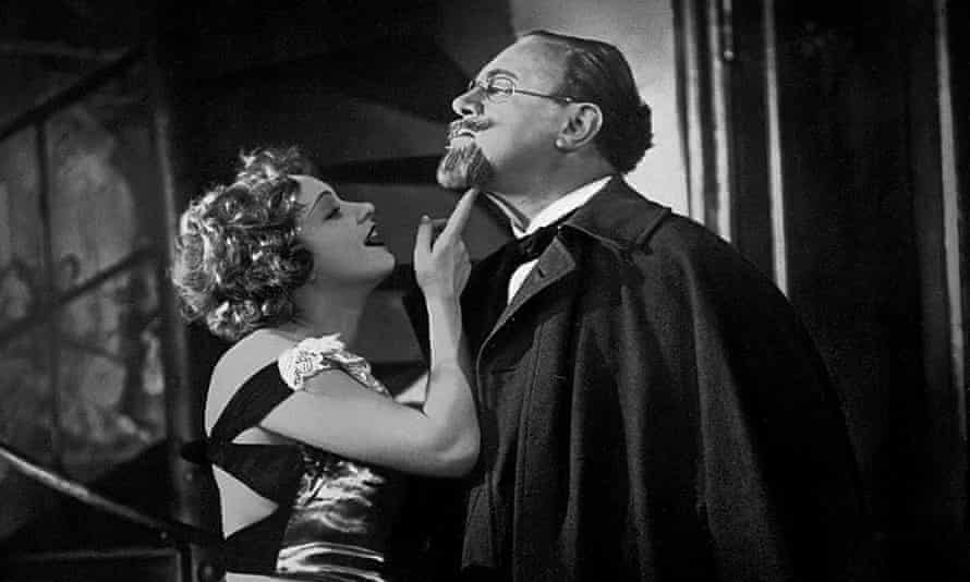 … Marlene Dietrich and Emil Jannings.