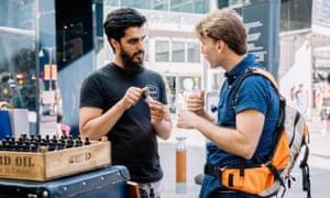 Abrar Mirza's London Beard Company reaches beyond the Muslim community.
