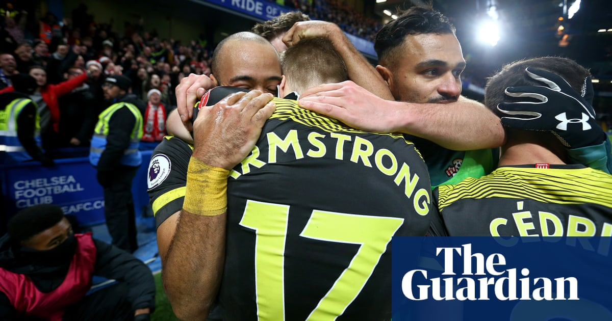 Chelsea stunned after Nathan Redmond wraps up vital win for Southampton