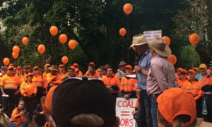 Acland coal protest