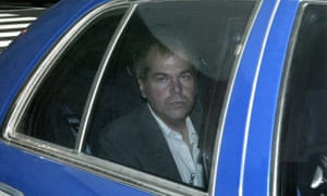 Hinckley arrives at a court in 2003.