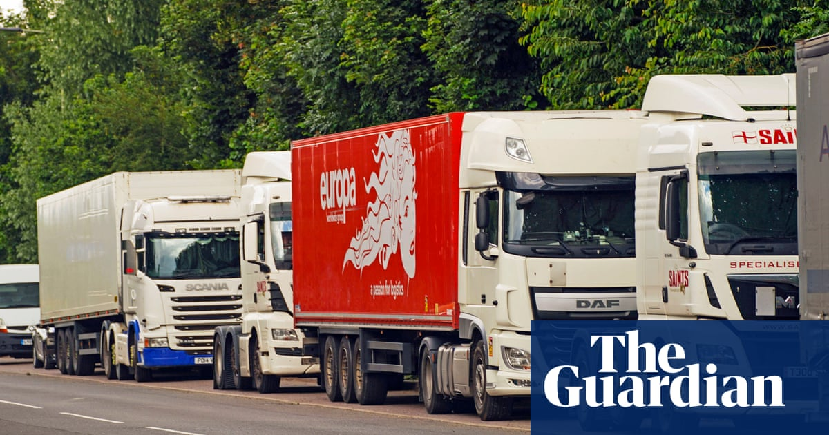 Minister 'urges firms to invest in UK-based workers' in HGV driver shortage
