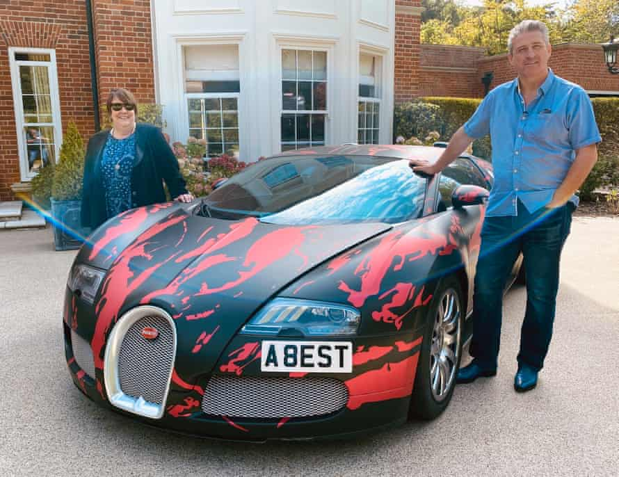 Kathy Burke with self-made multimillionaire Alfie Best.