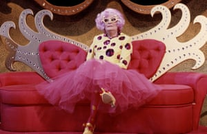 Dame Edna Everage.