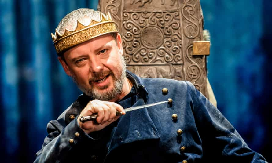 John Simm as Macbeth.