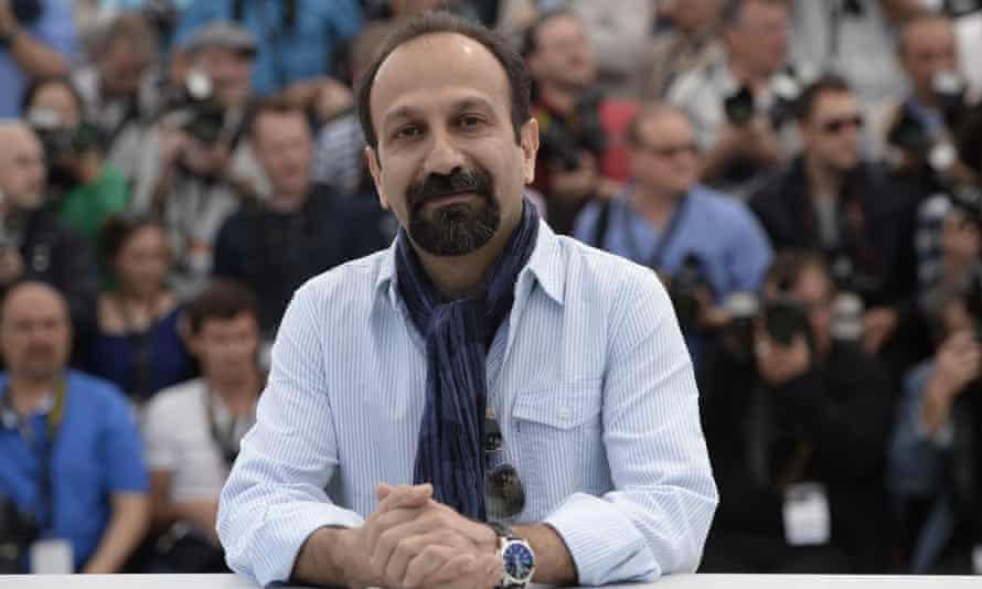 Asghar Farhadi at the 2013 Cannes film festival
