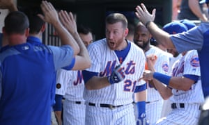 Todd Frazier helped the Mets to a 4-2 win on Monday