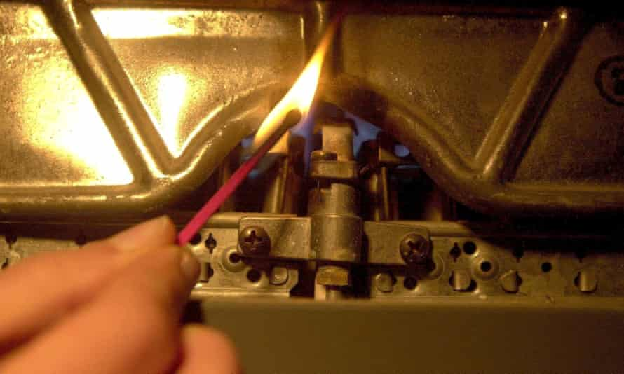Domestic boiler.