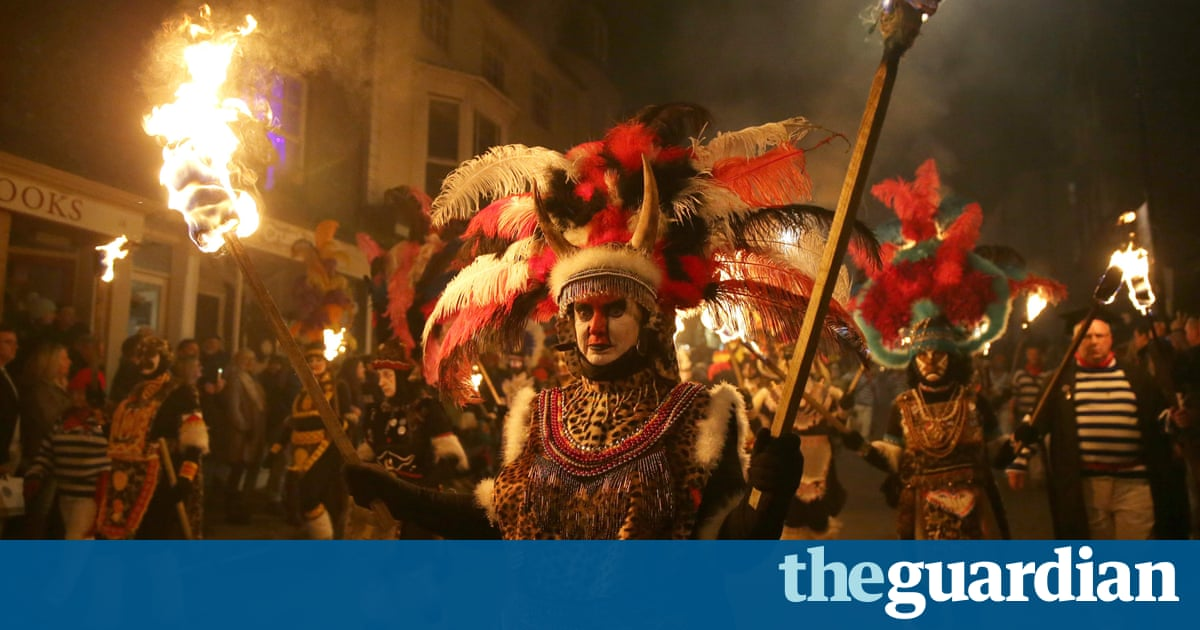 Lewes bonfire society ends tradition criticised for being racist