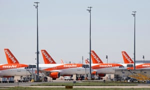 easyjet planes grounded until at least the end of May