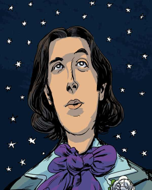 Oscar Wilde from Stories for Boys Who Dare to be Different by Ben Brooks.