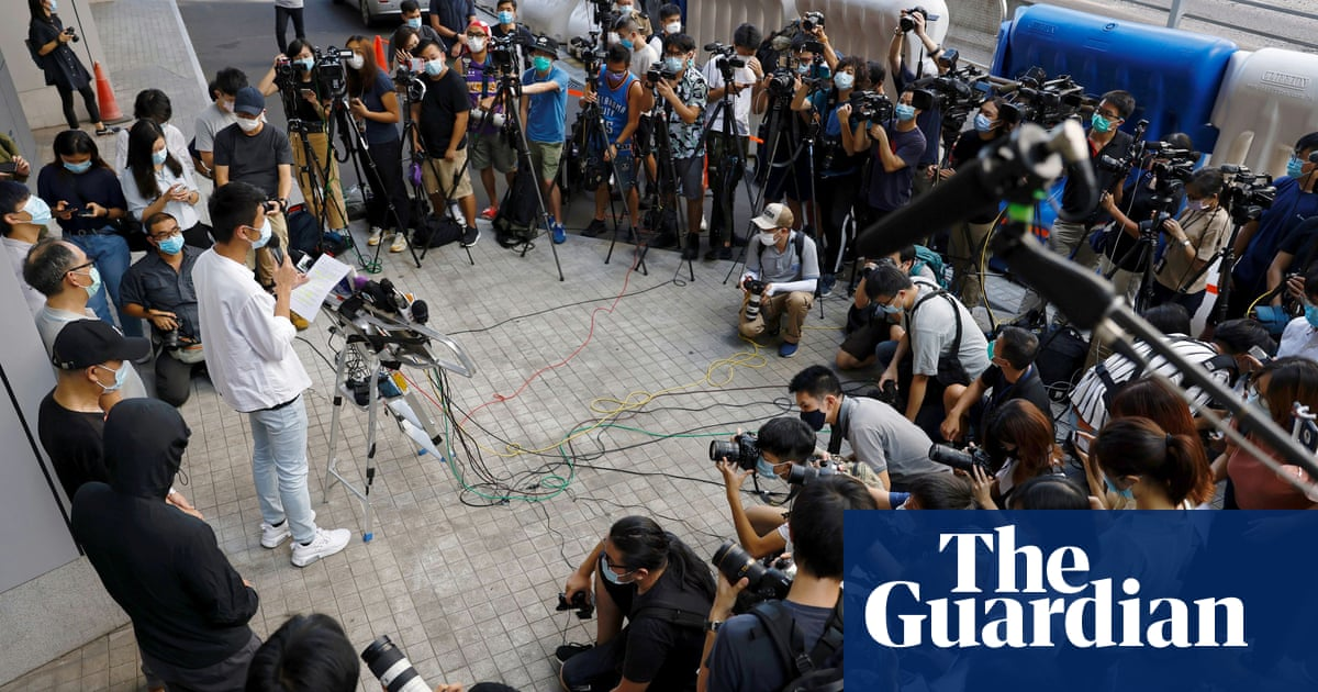 Hong Kong police tighten control on media with new accreditation rules