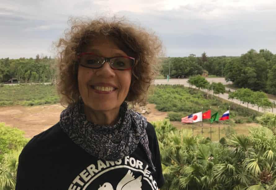 Susan Schnall in Vietnam.