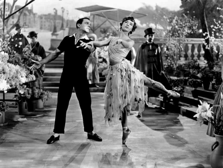 Gene Kelly and Leslie Caron in 1951's An American in Paris