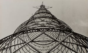 Shukhov Tower 1927. Photograph, gelatin silver print on paper
