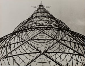 Shukov Tower, 1920 by Alexandr Rodchenko, from the Tate Modern show The Radical Eye