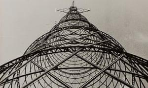 Alexander Rodchenko's Shukov Tower, 1920.
