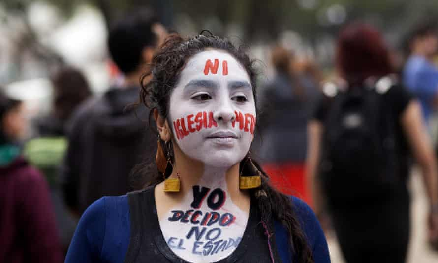 March held in Santiago for free abortions in Chile
