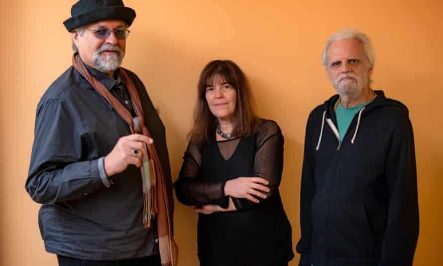 Delicate distillations of all three ... Trio Tapestry (from left: Joe Lovano, Marilyn Crispell, Carmen Castaldi).