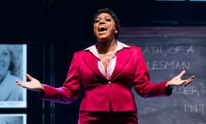 'Alan showed the reality' … Mica Paris in Fame the Musical at the Peacock theatre, London, in 2019.