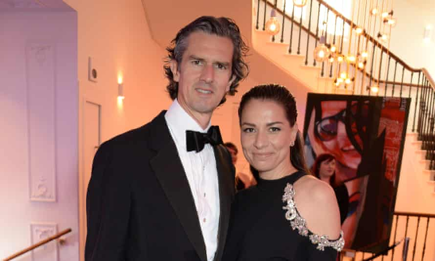 Stephen and Yana Peel.