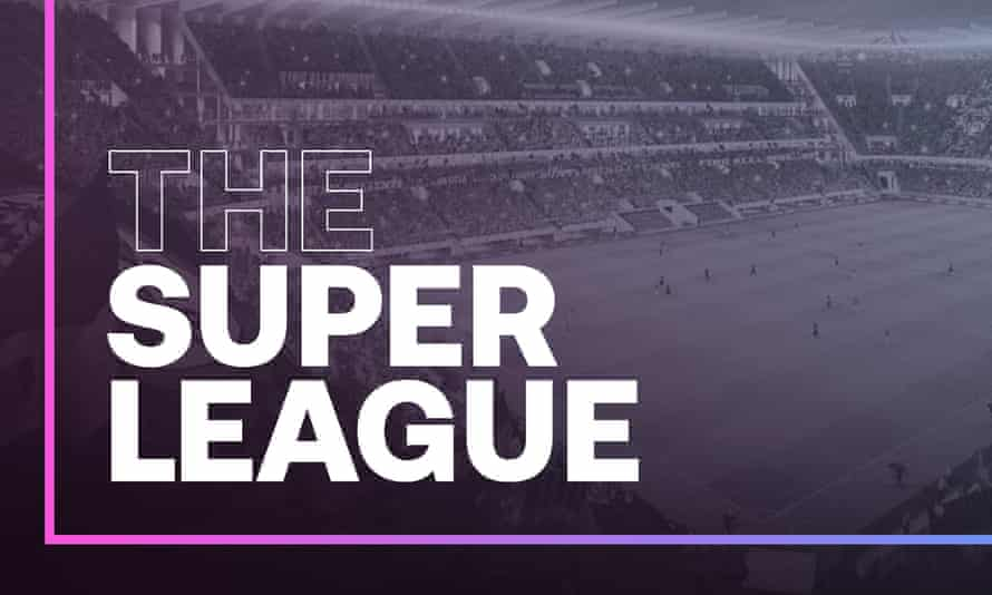 Six English clubs – Manchester City, Manchester United, Liverpool, Arsenal, Chelsea and Tottenham – have signed up to the breakaway competition.