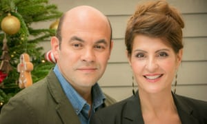 Nia Vardalos and Ian Gomez.