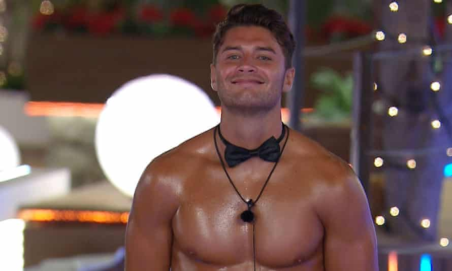 Oh yes he is... panto villain Mike Thalassitis.