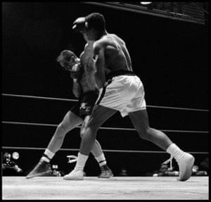 Muhammad Ali Fights Henry Cooper in Highbury, London, 1966