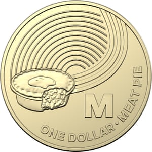 The meat pie $1 coin