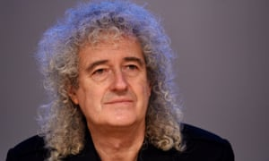 Former guitarist of Queen, Brian May.