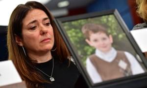 Francine Wheeler, the mother of Ben Wheeler, 6, who was killed at Sandy Hook, at a recent gun violence forum held in Washington.