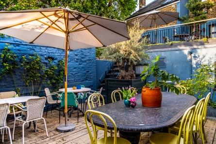Rose restaurant, garden in Deal Kent