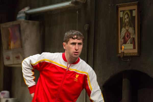 Aaron Monaghan as Ray in The Beauty Queen of Leenane.