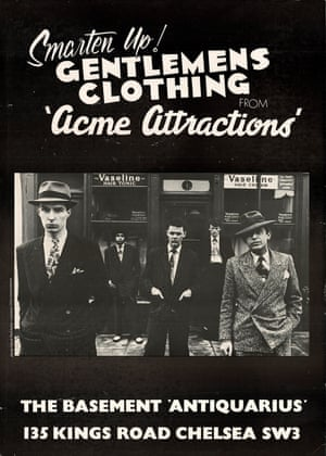 Acme Attractions opened as a stall in London's Chelsea market in the early 1970s, selling items from old jukeboxes to vintage clothing. Its manager was Don Letts, a musician, DJ, Clash associate and connector of London's punk and reggae scenes