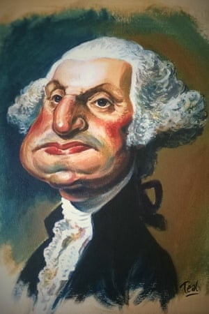 George Washington: 'When he was inaugurated as the first president of the United States in 1789, he only had one remaining tooth left in his mouth.'