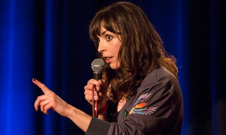 'I'm a minority in my pursuit for privacy' … Bridget Christie performing in London.