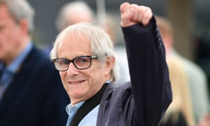 Ken Loach at a photocall for Sorry We Missed You at Cannes.