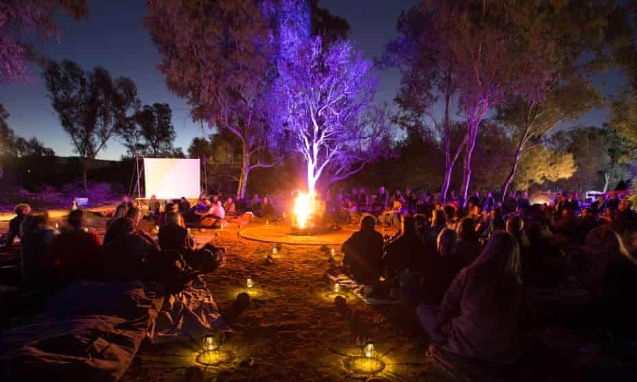 Crosslines poetic picnic at the 2017 NT Writers festival in Alice Springs.