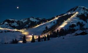 Nachtpiste SkiWelt Söll