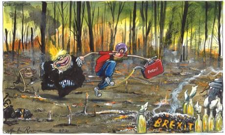 Martin Rowson: oven ready – cartoon