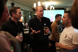 Frank Lampard and Prince William join football fans who have been supported by mental health charities Mind and CALM