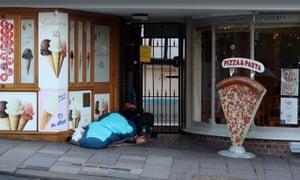 Rough sleepers in Windsor