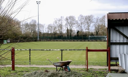 The Greenfleets Stadium, home of Aylesbury Vale Dynamos, who play in the Spartan South Midlands League Premier Division