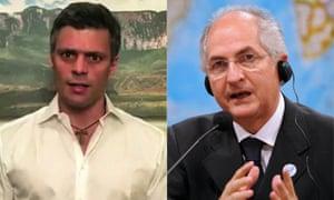 Leopoldo López and Antonio Ledezma