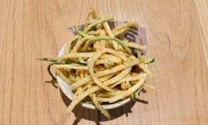 zucchini fritti.