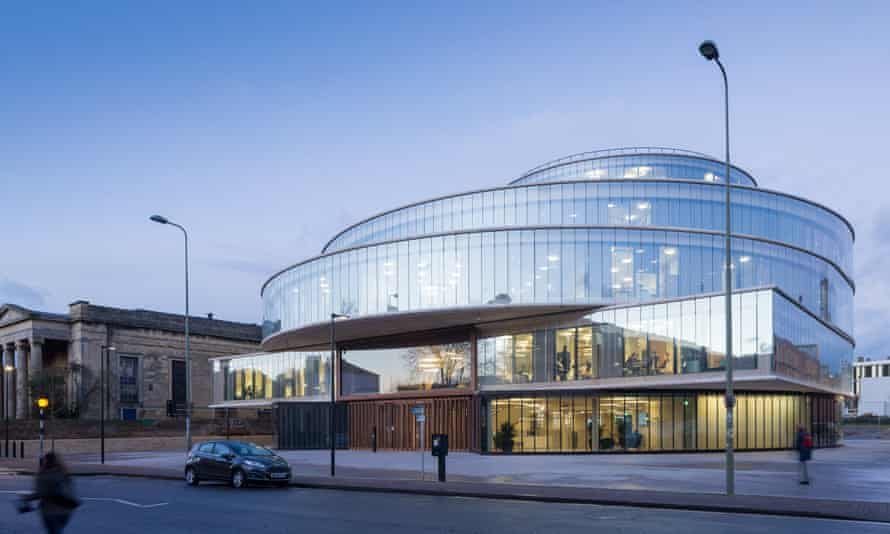 The Blavatnik School of Government in Oxford, where the Government Outcomes Lab is based